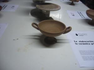 Kílix fabricado por la empresa La Navà
